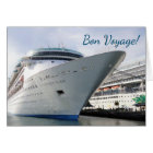 Enchanting Bow Custom Bon Voyage Card