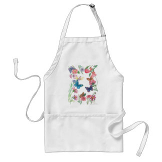 Enchanting flower fairy custom standard apron