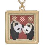 Enchanting Giant Pandas Necklace