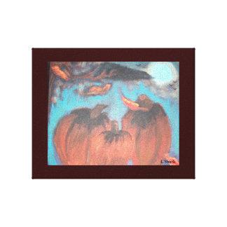 Enchanting Pumpkins Gallery Wrap Canvas