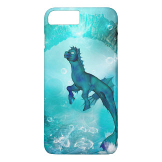Enchanting seahorse in a fantasy underwater world iPhone 7 plus case