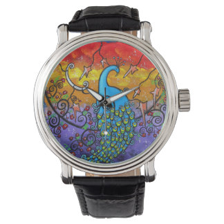 Enchantment Peacock Watch