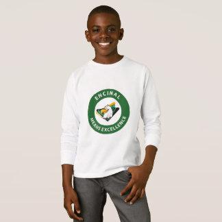 Encinal circle logo long sleeve t-shirt