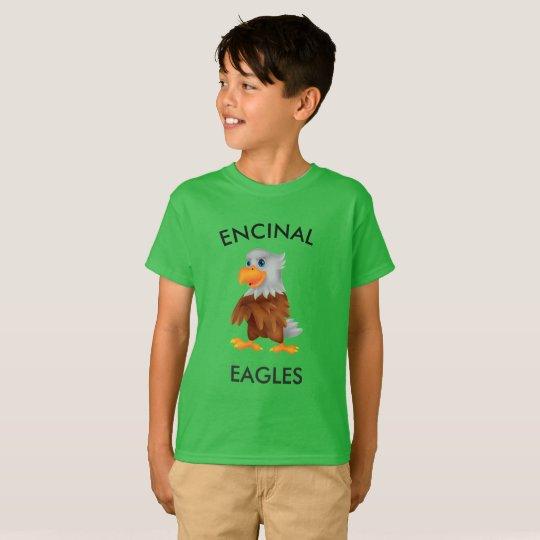 Encinal Eagle Green Eddie T-shirt