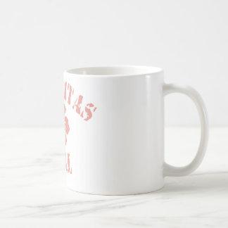 Encinitas Pink Girl Basic White Mug
