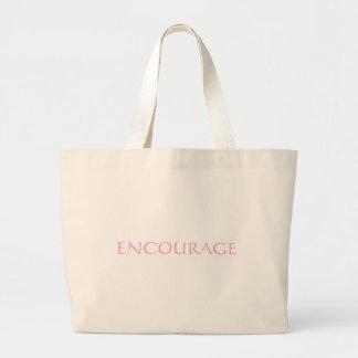 ENCOURAGE CANVAS BAG