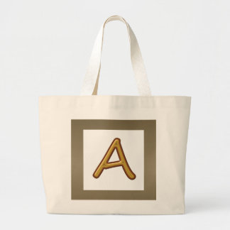 Encourage Excellence : Golden AAA Award Image Canvas Bags