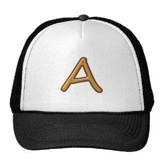 Encourage Excellence : Golden AAA Award Image Mesh Hats