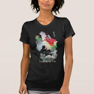 Encourage the Goddess dark shirt