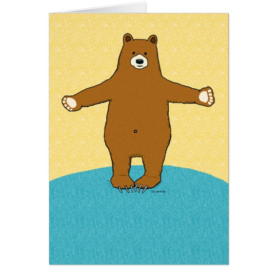 Encouragement Bear Hug Card