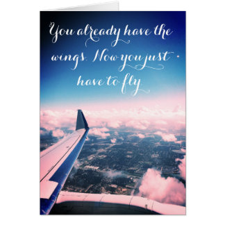"""Encouragement """"Fly"""" Card"""