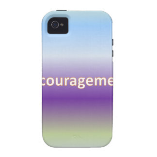 encouragement iPhone 4 case