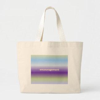 encouragement jumbo tote bag