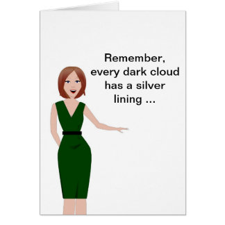 Encouragement - Sarcastic Note Card