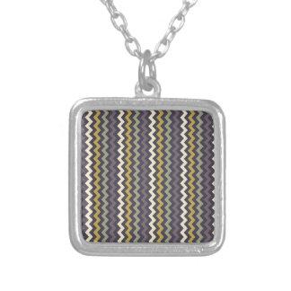 Encouraging Exuberant Determined Modest Square Pendant Necklace