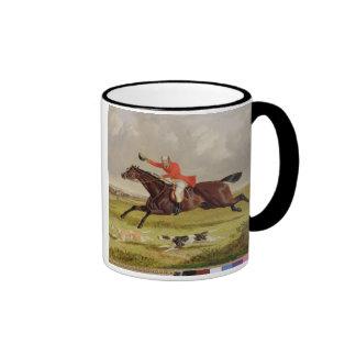 Encouraging Hounds, 1839 (oil on panel) Coffee Mug