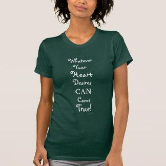 Encouraging Positive Words Design T-shirt