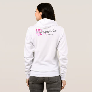 Encouraging Words Breast Cancer Awareness Hoodie