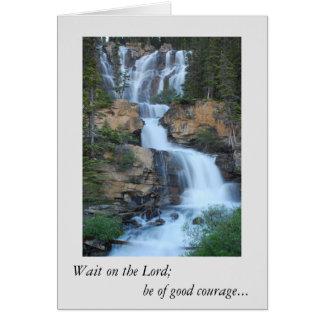 encourement card, Bible verse Card