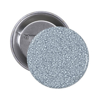 Encrusted Diamonds Look Glitter Patter 6 Cm Round Badge
