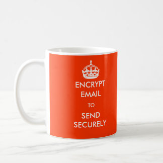 Encrypt Email to Send Securely Mug