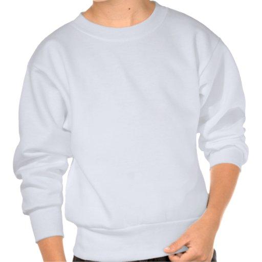 Encrypted (Adventure Of The Dancing Men Cipher) Pullover Sweatshirt