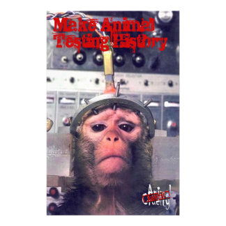 End Animal Testing 14 Cm X 21.5 Cm Flyer