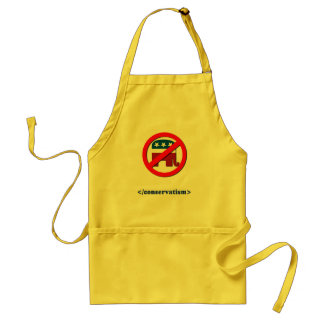 End conservatism apron