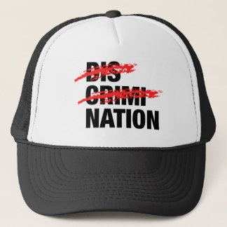 End Discrimination Trucker Hat