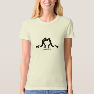 """""""end dog fighting."""" t shirts"""