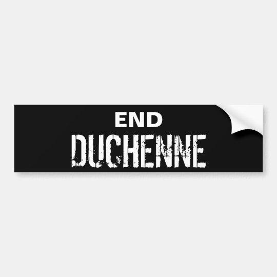 END DUCHENNE Bumper Sticker