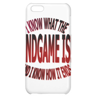 END GAME iPhone 5C COVERS
