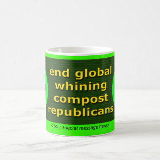 End Global Whining! Coffee Mugs