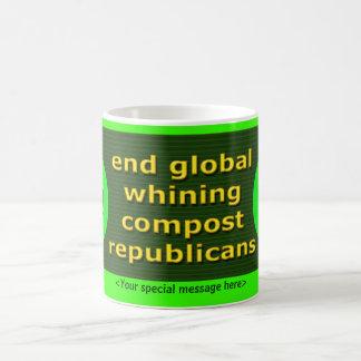End Global Whining! Coffee Mugs