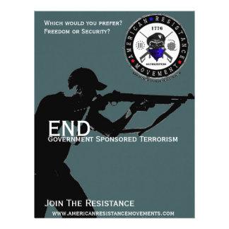 End Gov. Sponsored Terrorism Flyers