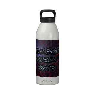 END HATRED DRINKING BOTTLE