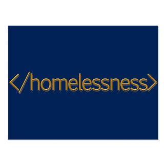 End Homelessness Postcard