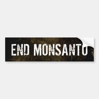 End Monsanto bumper sticker