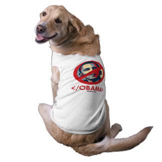 End Obama Sleeveless Dog Shirt