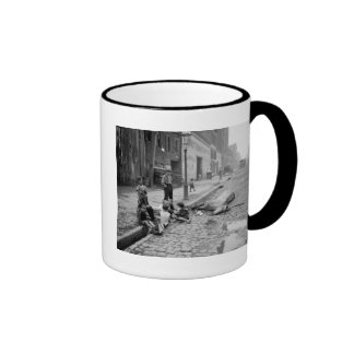 End of a Career early 1900s Coffee Mugs