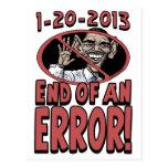 End of an Error Anti-Obama Gear Postcard
