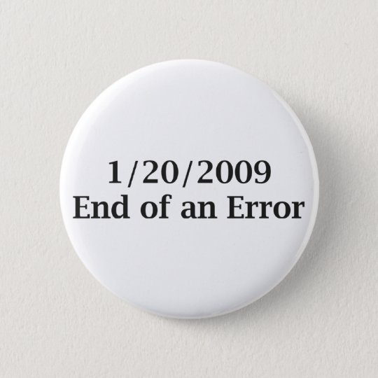 End of an Error Button