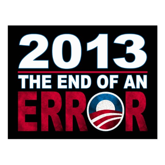 End of an ERROR Postcard