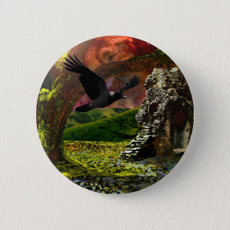 End of days.. The last tree 6 Cm Round Badge