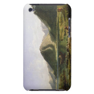 End of Lake Geneva, 1835 (oil on canvas) iPod Case-Mate Case