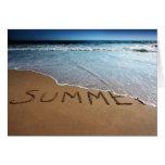 End Of Summer At Calilfornia Coast Greeting Card