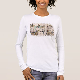 End of the battle (ink on paper) long sleeve T-Shirt