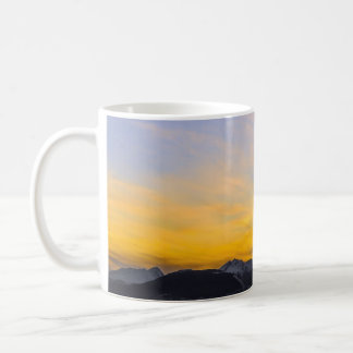 End of the Day in Tierra Del Fuego Basic White Mug