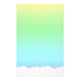 End of the Rainbow Custom Stationery