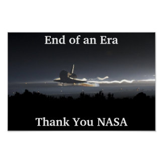 End of the Space Shuttle Era Poster